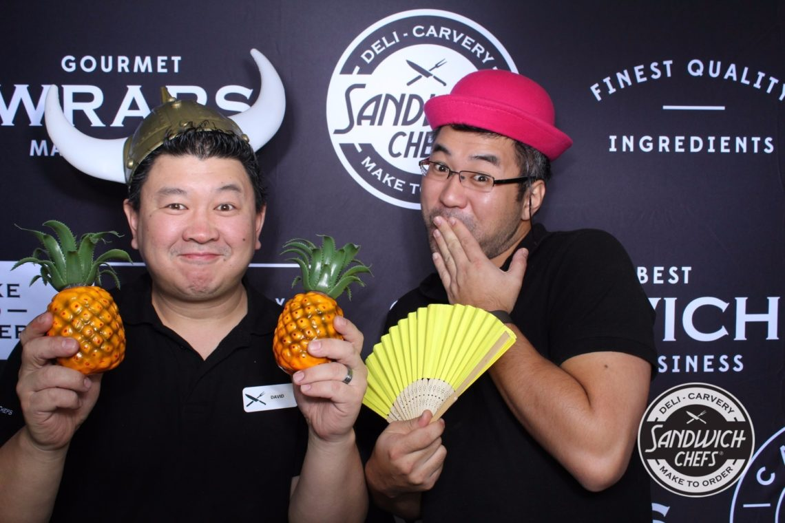photobooth sandwich chefs